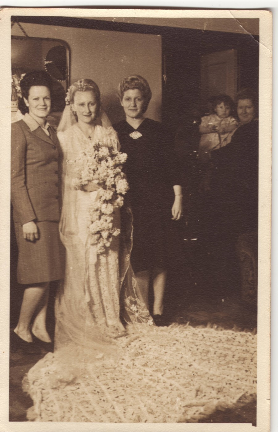 Maude and George's Wedding Day