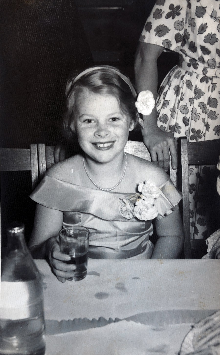 Judith as a child
