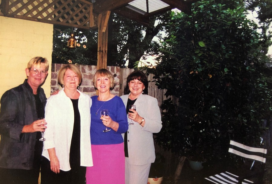 St Joan of Arc Staff (Maureen Warner, Judith Molloy, Kathy Smithies, Eva La Rocca)