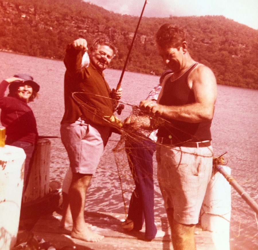 Fishing on the Hawkesbury River (Gina Cave, Roy Cave and Rex Mahony)