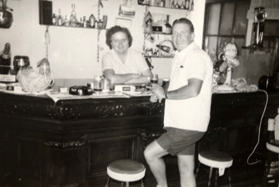 Barbara and Jimmy Young in the Tavern