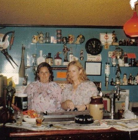 Margaret and Cheryl Mahony in the Tavern