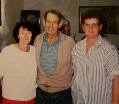 Vonnie Vowles, Rex Mahony and Adele Argall at 270 Maroubra Rd, Maroubra